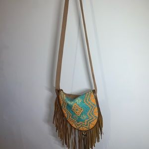 Over the shoulder purse / tassels / Earthbound